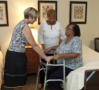 Compassionate Caregiver Training provides hands-on instruction for those who care for Family Hospice patients at home.