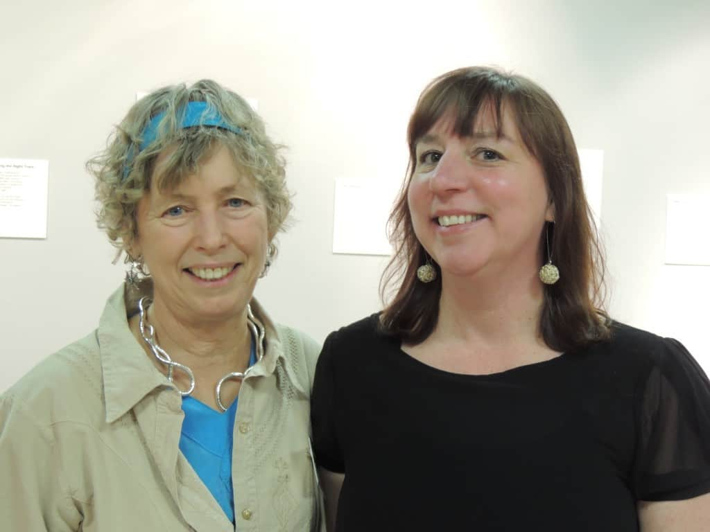 Christine Michaels with Paula Church