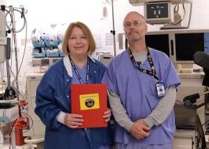 Rose Seibert, RN, BSN and David Lynch, RN, BA
