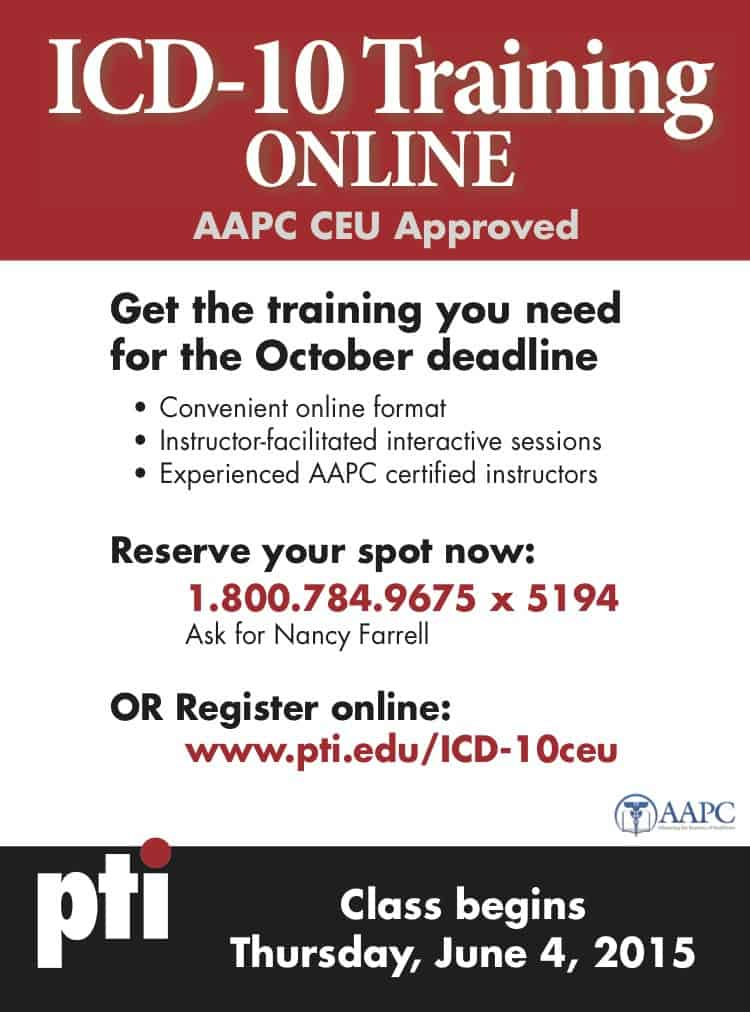 Online Icd 10 Training At Pittsburgh Technical Institute Western