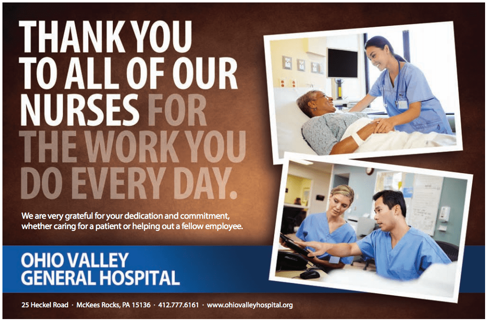 Thank You To All Of Our Nurses Ohio Valley General