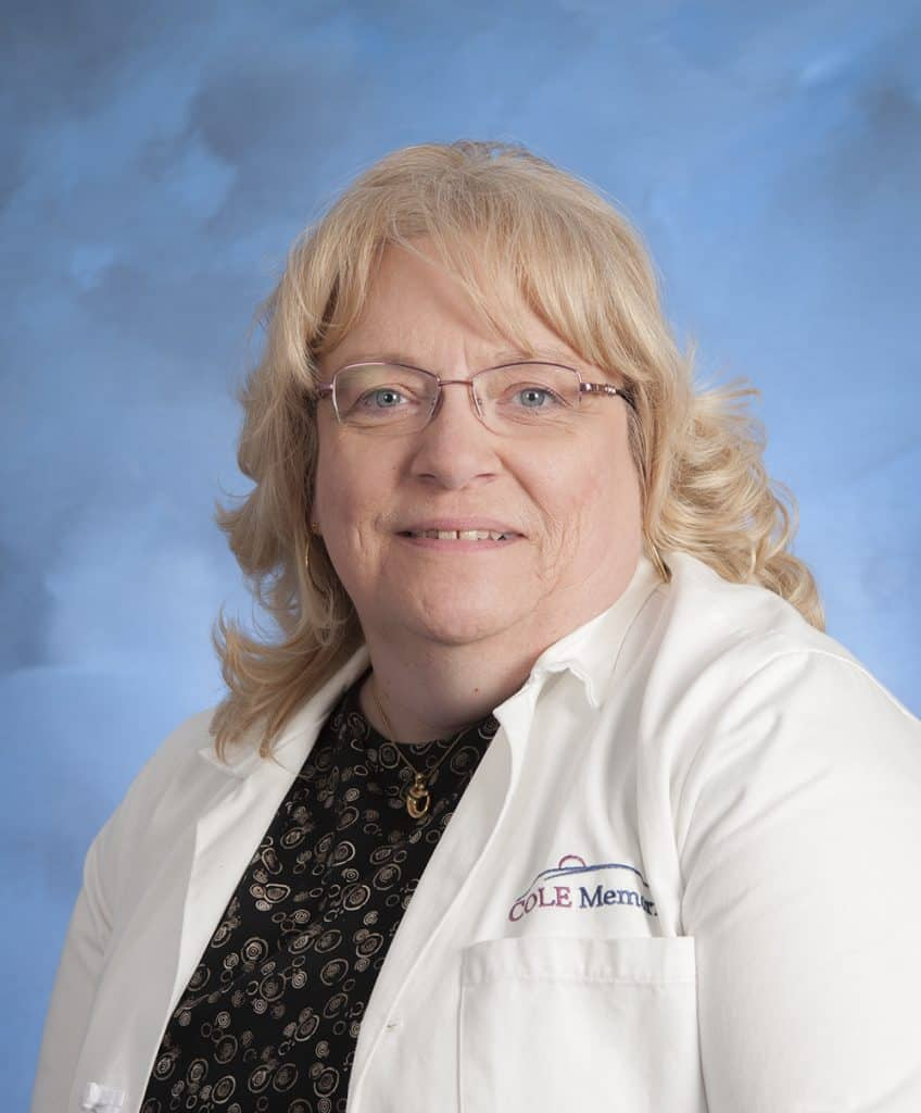 Gale Thomason, RN, MSN, FNP-C, new primary care provider at Cole Memorial's Northern Potter Health Center.