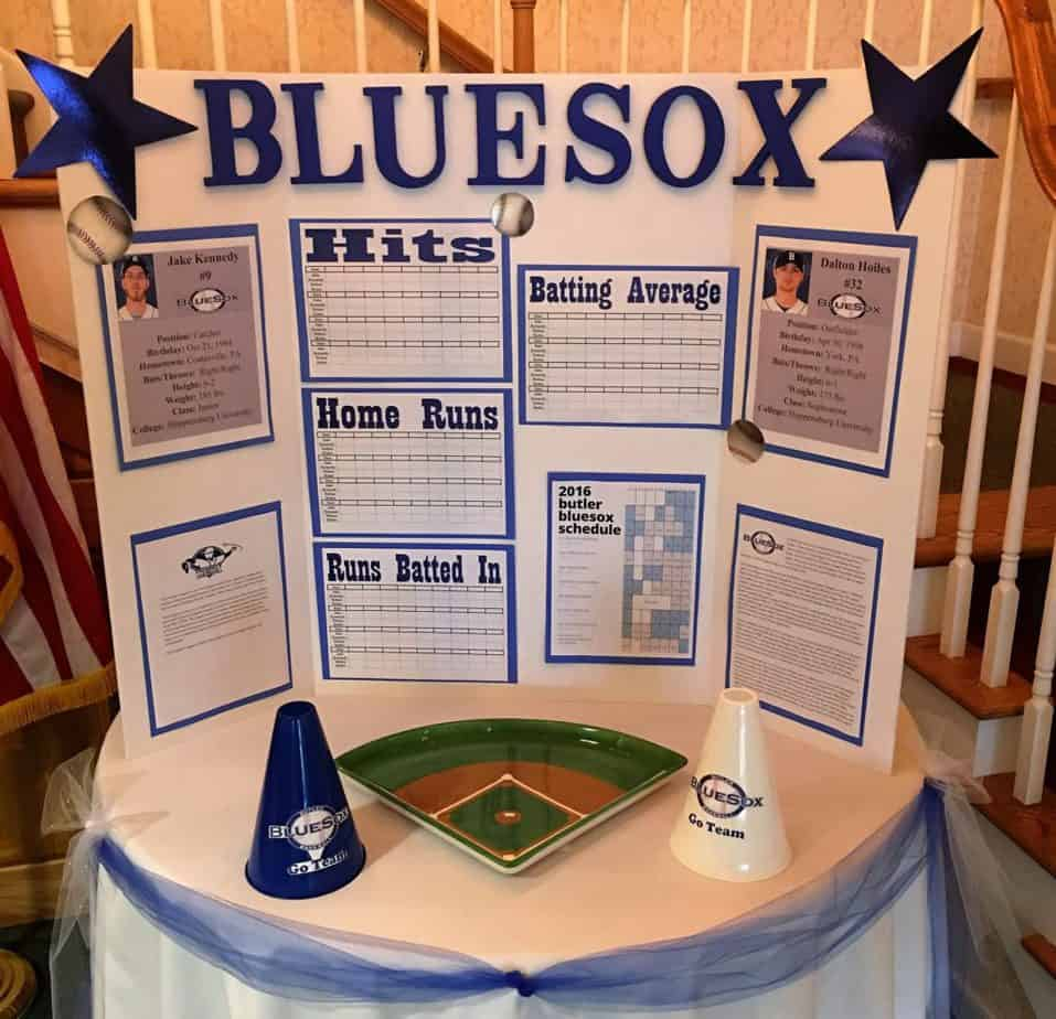 BlueSox display at NHC Clearview
