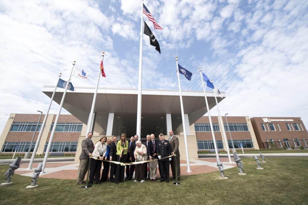 VA Butler's New Health Care Center Ribbon Cutting – Western
